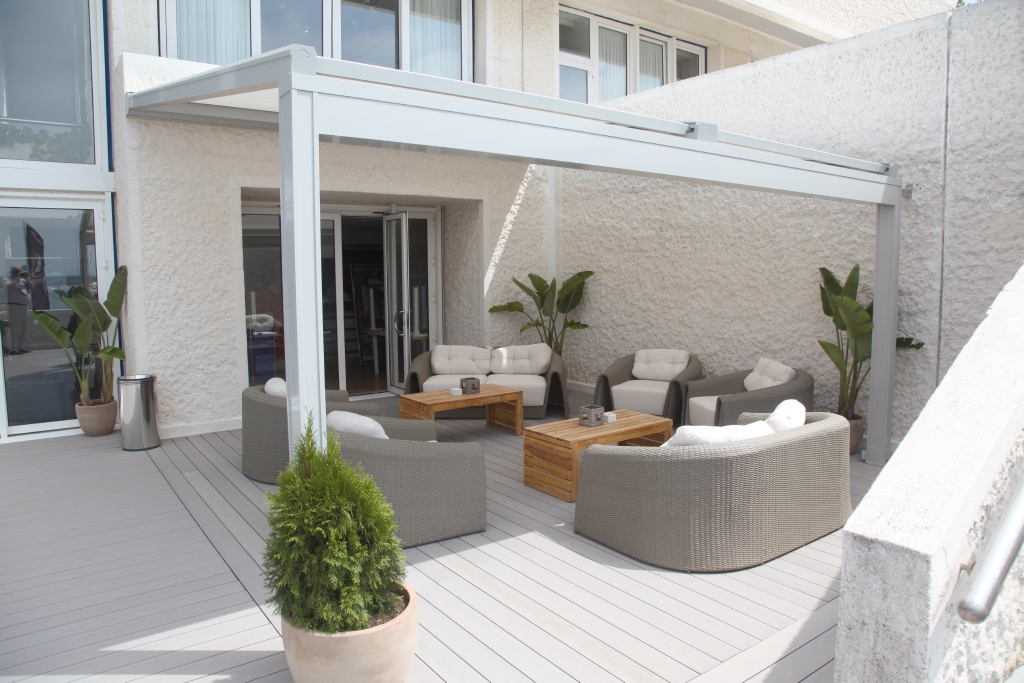 toiture de terrasse mod le lagune rossi. Black Bedroom Furniture Sets. Home Design Ideas