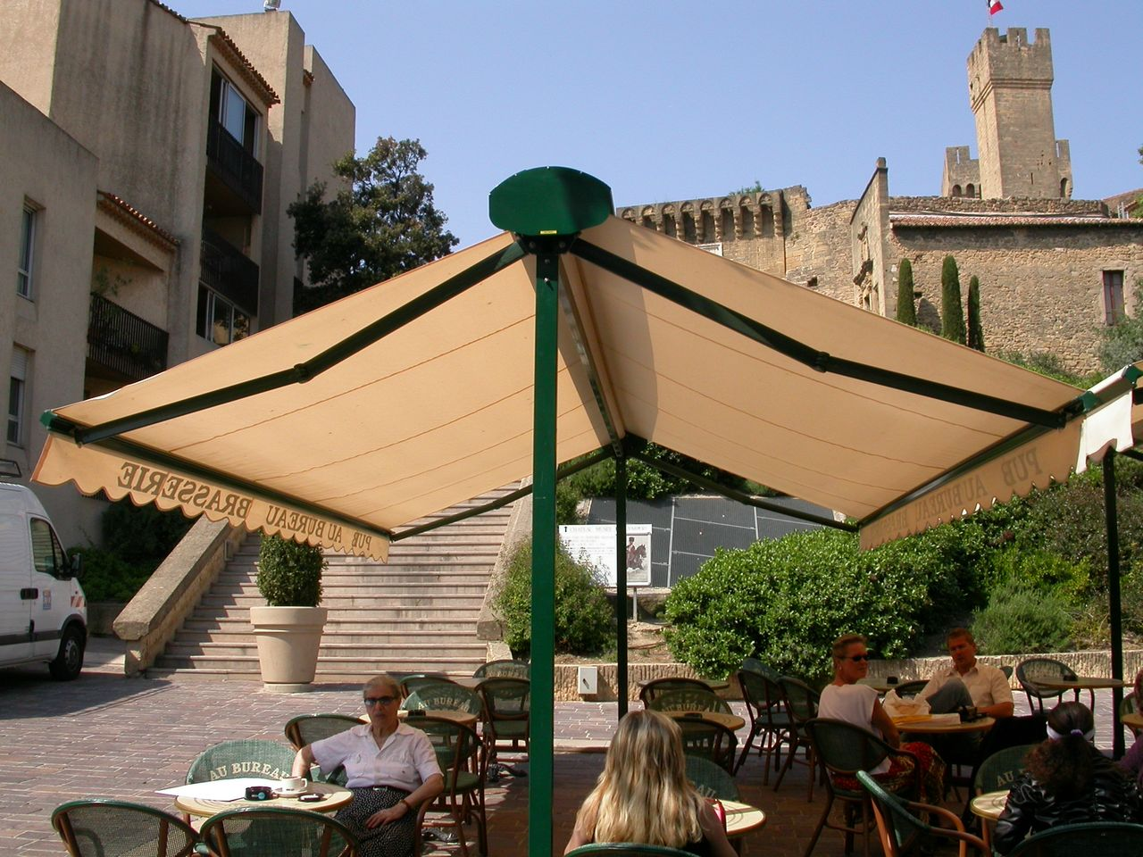 Abris de terrasse double pente pour professionnels ou particuliers à